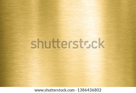 Gold metal brushed background or texture #1386436802