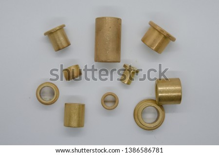 Bronze Bushing bronze metal yellow  bronze bearings #1386586781