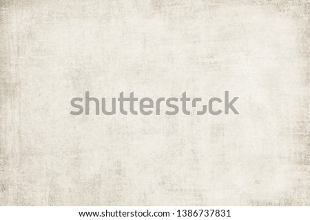 OLD SCRATCHED PAPER TEXTURE, BLANK NEWSPAPER BACKGROUND, GRUNGE WALLPAPER #1386737831