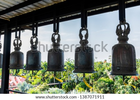 Bells used to strike for good luck #1387071911