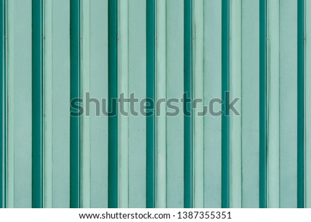 Turquoise wall. Turquoise pillar. Turquoise texture #1387355351