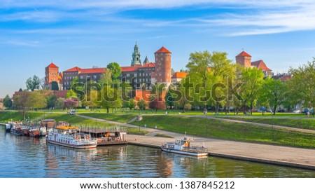 Wawel, city of Krakow, Poland #1387845212