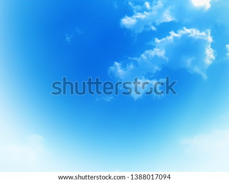 Natural sky background texture, beautiful color #1388017094