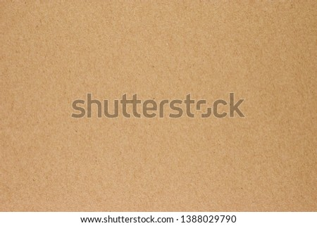 Paper texture brown sheet background Royalty-Free Stock Photo #1388029790