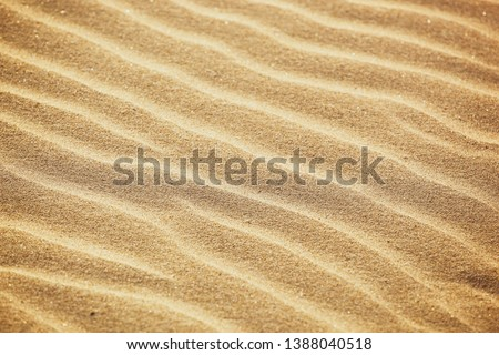 Close-Up Of Sand Background Texture #1388040518