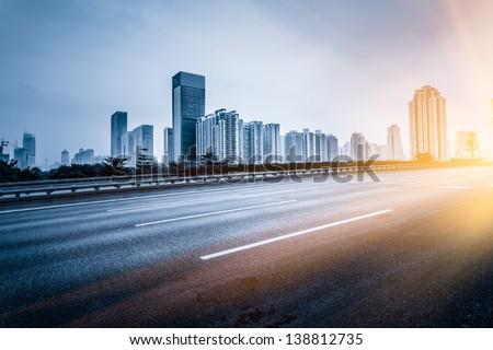 traffic of city Royalty-Free Stock Photo #138812735