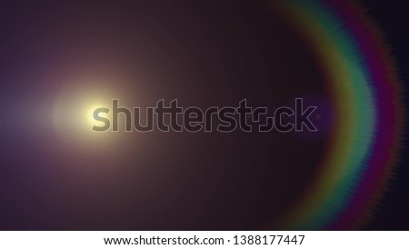 lights optical lens flares shiny bokeh illustration art background new natural lighting lamp rays effect colorful bright stock image #1388177447