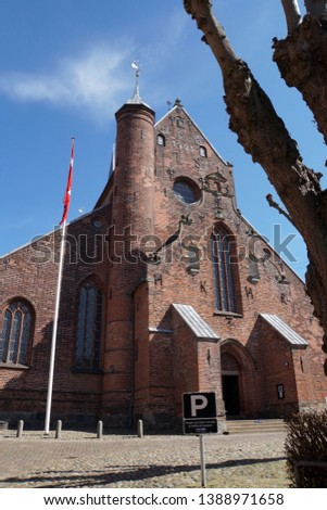 Cathedral in Haderslev, Church of Mary, south Denmark, Denmark #1388971658