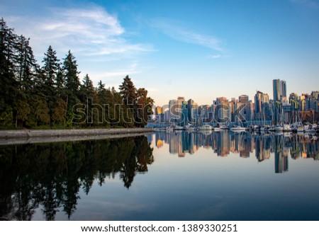 City of Vancouver Canada and Capilano Bridge