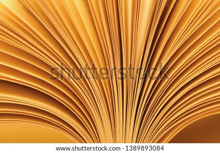 open book with fanned pages                      #1389893084