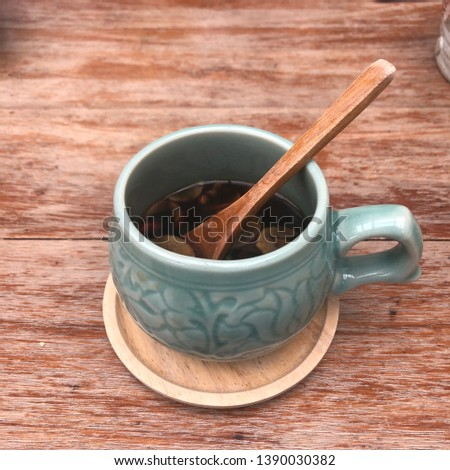 traditional Korean tea Black Herbal Tea #1390030382
