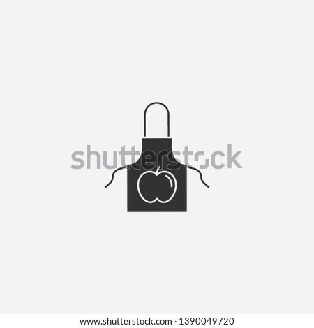 apron icon illustration isolated vector sign symbol #1390049720