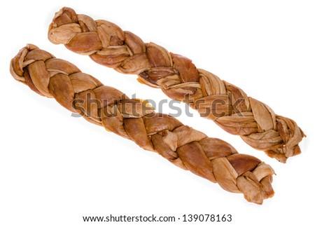 Braided Uzbek dried organic honeydew melon #139078163