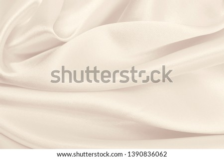 Smooth elegant golden silk or satin luxury cloth texture can use as wedding background. Luxurious background design. In Sepia toned. Retro style #1390836062