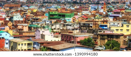 Overview of Soweto (South Western Townships), Johannesburg, South Africa. #1390994180