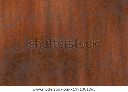 rusty aged corroded metal background  #1391301965