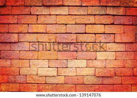 Stone wall texture process in vintage style #139147076