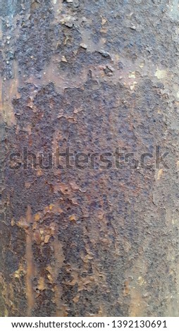 Rusty metal. Rust. Rusty Metal Background. Rusty metal surface #1392130691