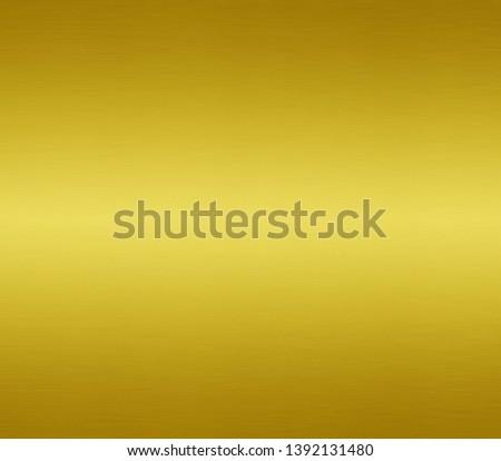 Gold metal texture or yellow aluminum surface #1392131480
