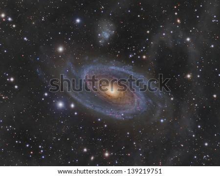 Messier 81 (M81): Spiral Galaxy in the constellation Ursa Major