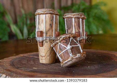 "Musical instruments of Panama, drum, box, marjoram ""Tambores de Panama"" #1393379183"