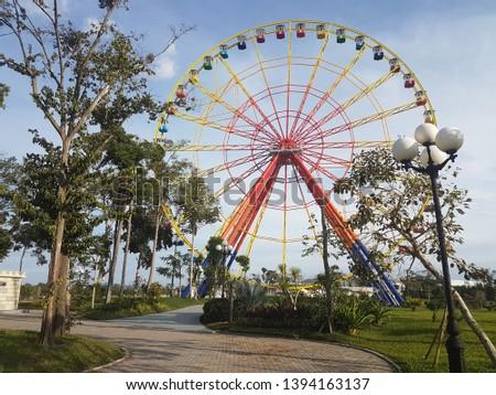 A Ferris Wheel of Vinpearl Phu Quoc #1394163137