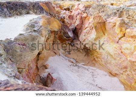 Limestone natural texture #139444952