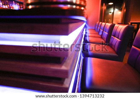 Bar and Lounge in a hookah lounge #1394713232
