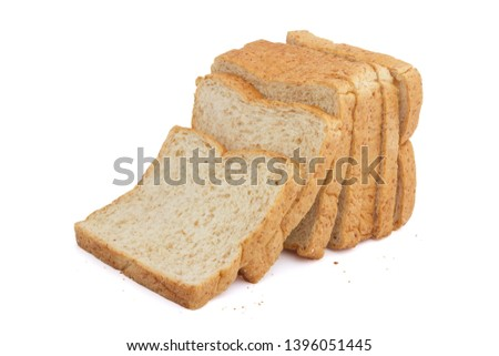Whole wheat bread is a kind of bread made from flour that is partially or completely crushed from whole or almost whole grains, whole wheat flour and cereal. Is a kind of brown bread #1396051445