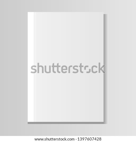 image of a white book on a gradient background #1397607428