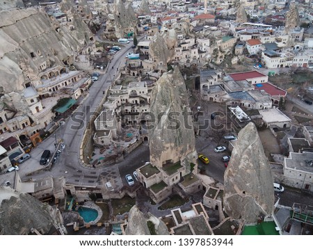 Turkey, Feb. 13, 2019 :  An amazing landscape of Capadocia, Turkey is included in one of the UNESCO World Heritage sites #1397853944