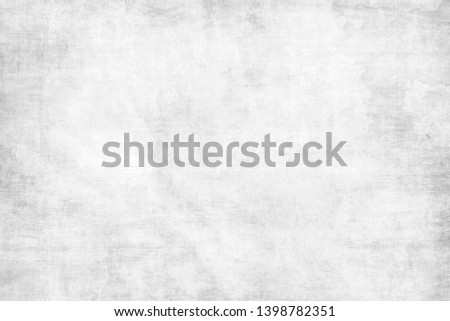 Monochrome texture painted on canvas.Artistic cotton grunge gray background. #1398782351