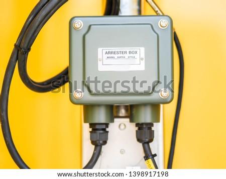 Arrestor systems for transmitter in power plant. #1398917198