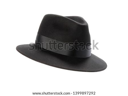 Black hat isolated on white background #1399897292
