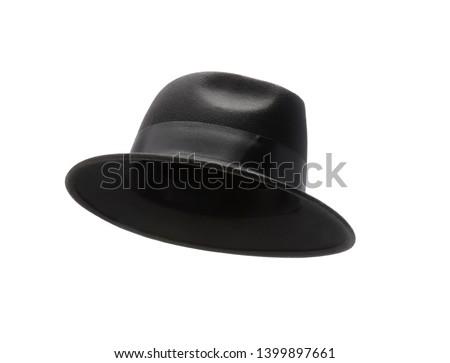 Black hat isolated on white background #1399897661