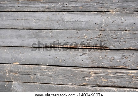 Background of black flaky wood Backdrop of black colored wooden panels with aged flaky surface #1400460074