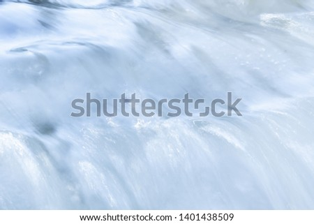 ICE BERG BACKGROUND, SNOW COVER IN SUN LIGHT, WINTRY NATURE #1401438509