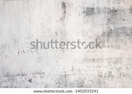 Grunge concrete wall white and grey color for texture vintage background #1402033241