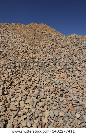 Rough medium stone for drainage and road dumping #1402277411