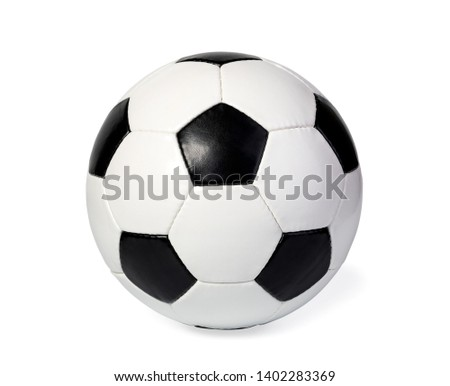 football ball, isolated on white #1402283369