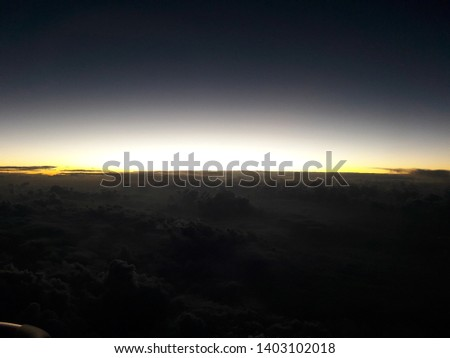 The first light of the horizon , Horizon #1403102018