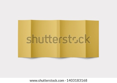 Hardcover Book Mock-Up - Dust Jacket. Fron and back Royalty-Free Stock Photo #1403183168