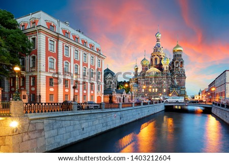 St. Petersburg - Church of the Saviour on Spilled Blood, Russia #1403212604