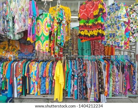 Thai clothing fashion in Songkran Festival event #1404212234