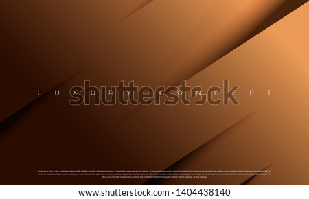 Vector abstract golden luxury backgrounds with geometric graphic elements for poster, flyer, digital board and concept design. Royalty-Free Stock Photo #1404438140