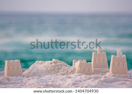 Sand Castles on Navarre Beach