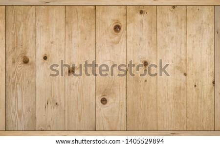 Full frame wooden table texture. #1405529894