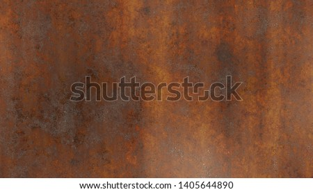metal corroded rusty wall plate #1405644890