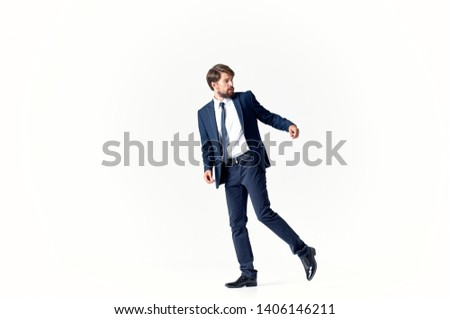 A man in a suit is a corporate manager Professional #1406146211