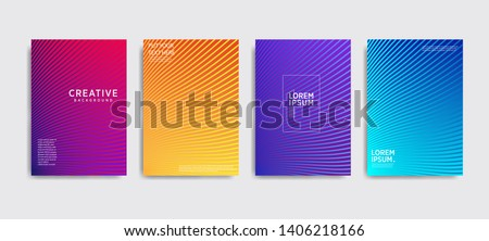 Minimal covers design. Colorful halftone gradients.background modern template design for web. Cool gradients. Future geometric patterns. Eps10 #1406218166